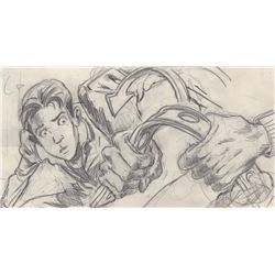Original Hank Tucker Storyboard Drawings from Titan A.E. (Fox Animation Studios, 2000)