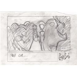 Original Storyboard Drawing from Tim Burton's Corpse Bride (Warner Bros. 2005)