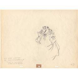 Original Production Drawing of Tony from Lady and the Tramp (Disney, 1955)