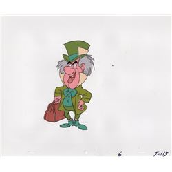 Production Cel of Mad Hatter from an Eastern Airlines commercial for Disney World (Disney, 1970s)