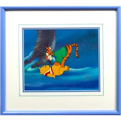 Production Cel of Winnie the Pooh & Tigger from The New Adventures of Winnie the Pooh (Disney 1988)