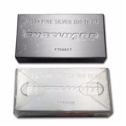 One piece 100 oz 0.999 Fine Silver Bar Engelhard in Original Plastic