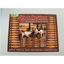 REMINGTON TIN ADVERTISING SIGN - REPRO