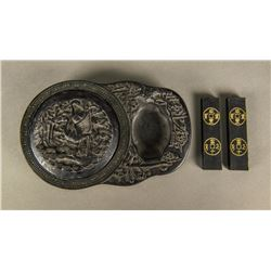 Chinese Ink Stone and Sticks