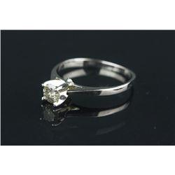14K Gold Diamond Solitaire Ring CRV $1675