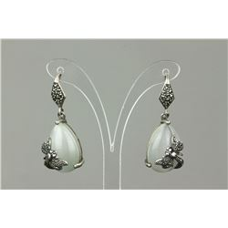 Chinese Fine Silver Set Earrings