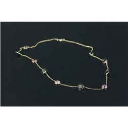10K Gold Tourmaline Necklace CRV $1950
