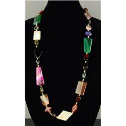 Variety Hardstone Necklace