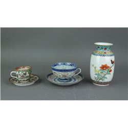 5 Pieces of Chinese Export Porcelains