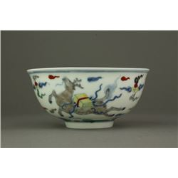 Chinese Doucai Porcelain Bowl Ming MK