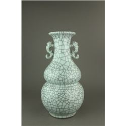 Chinese Guan Type Large Porcelain Vase