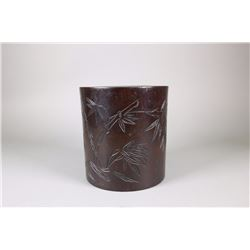 Chinese Fine Rosewood Brushpot