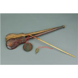 Chinese Old Scale w/ Rosewood Case