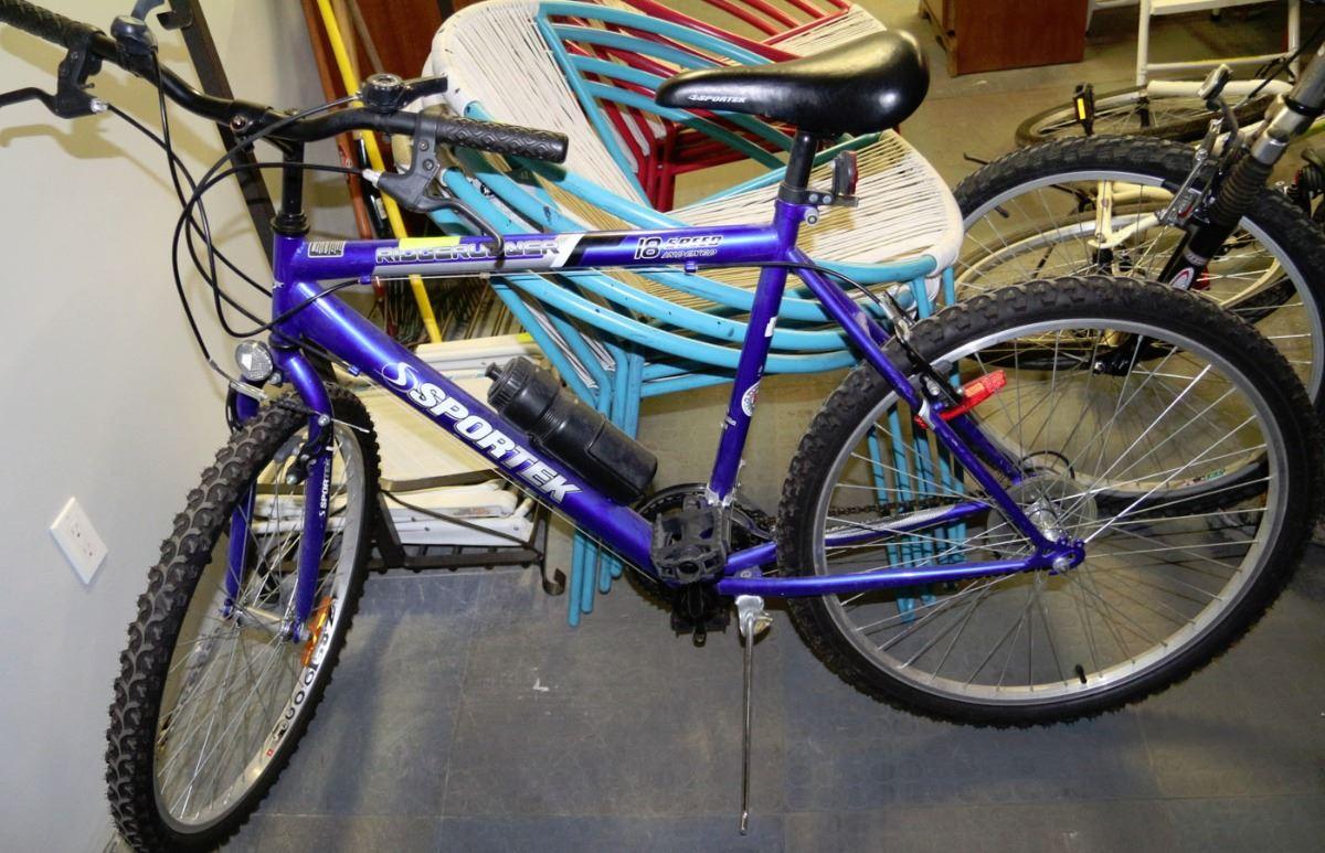 Ridgerunner Sportek 18 Speed Mens Bike I flip flopped silpoly & silnylon. live auction world