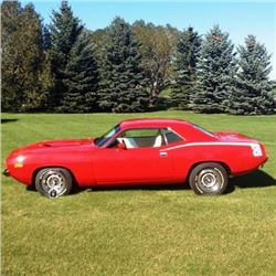 12:30 PM SAT FEATURE! 1973 PLYMOUTH BARRACUDA