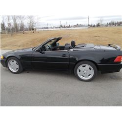 1990 MERCEDES SL500 CONVERTIBLE