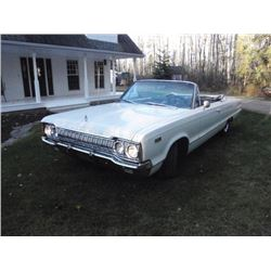 1965 DODGE POLARA CONVERTIBLE