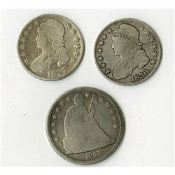 Bust and Seated Coinage group.