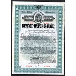 City of Baton Rouge. 1905.