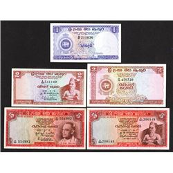 Central Bank of Ceylon. 1956-65 Issues