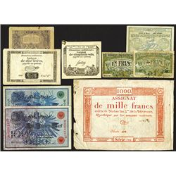 French Assignats plus Germany.