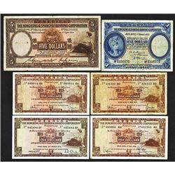 Hong Kong & Shanghai Banking Corp. 1929-72 Issues.