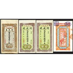 China Private & Local Banknote Assortment ca.1913 to 1931.