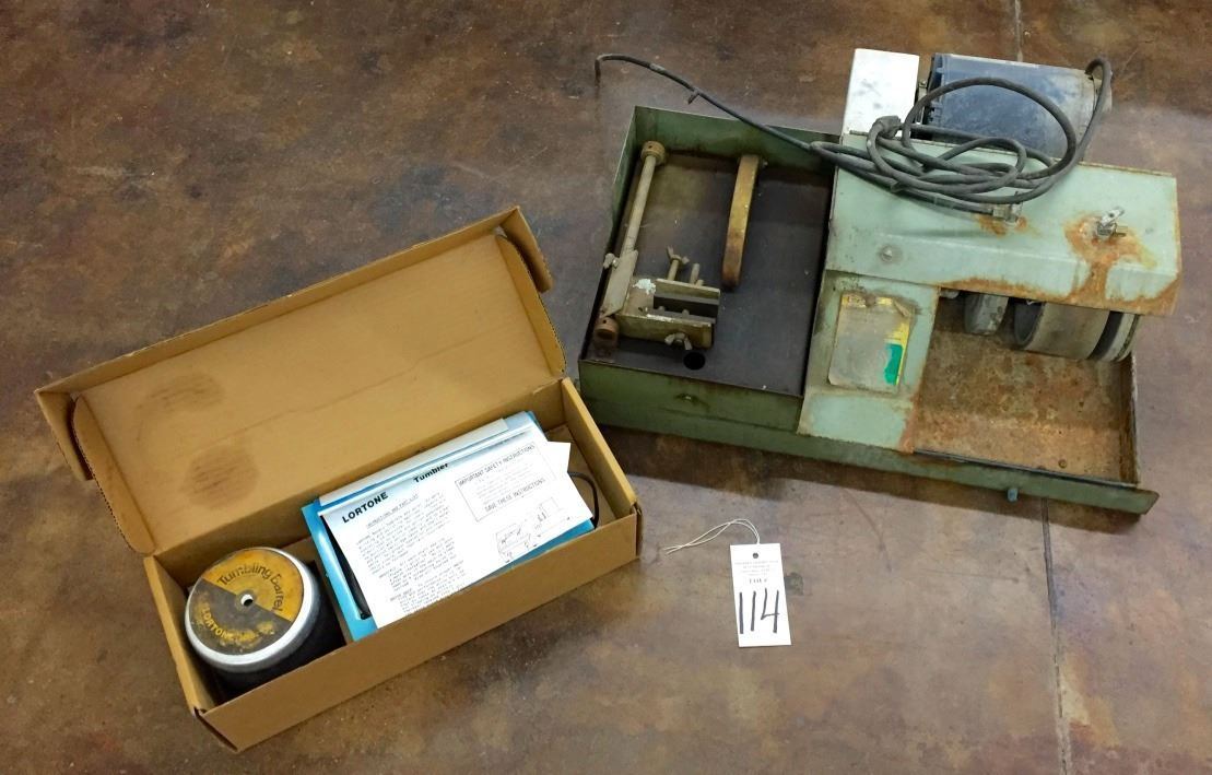Lapidary Saw, Buffer and Tumbler