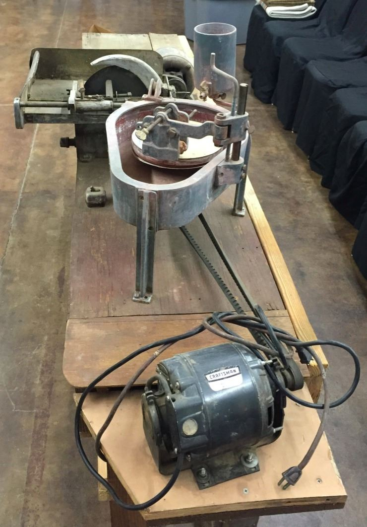 Lapidary Equipment/Bench