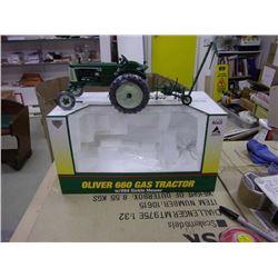 1/16th Stock No. SCT 340 Oliver 660 Gas Tractor w/#84 Sickle Mower