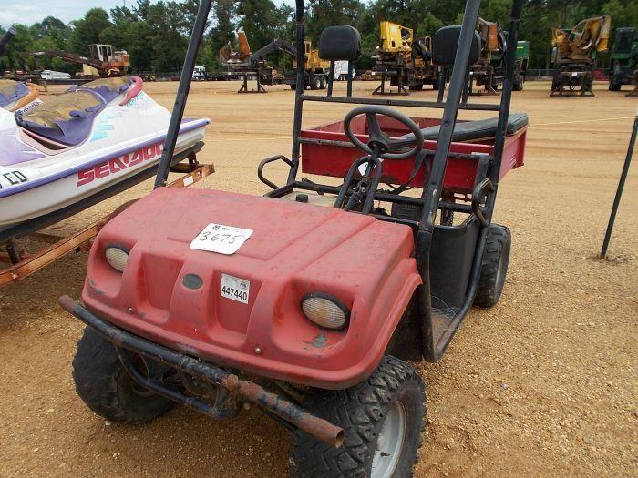 BRISTERS CHUCK WAGON ATV, VIN/SN:BDMUTXH7A12304A - (DOES NOT RUN)