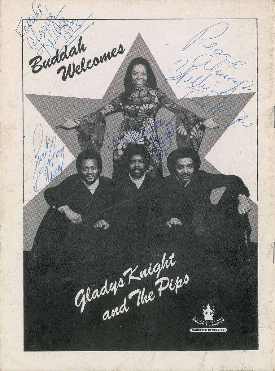 Image result for gladys knight buddah records advert