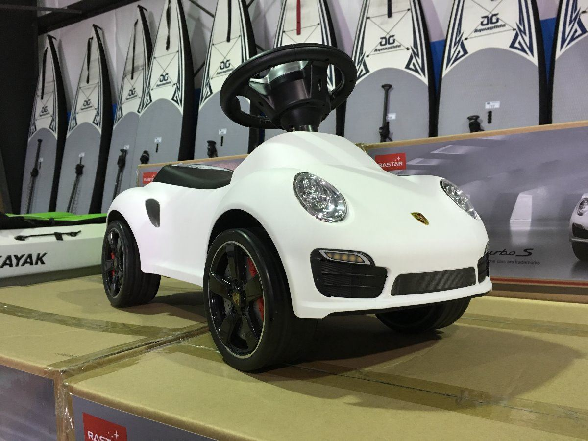 Rastar Porsche 911 Turbo S Childs Push Car Toy