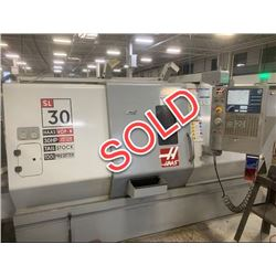 SOLD  -  2007 Haas SL-30T Turning Center