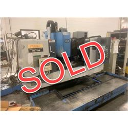 SOLD  -  1999 Mazak VTC-20B w/ 4th Axis & Fusion 640M Control