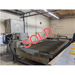 SOLD  -  MESSER SM/HD1006P CNC PLASMA CUTTING TABLE