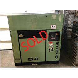 SOLD - 40hp Sullair ES-11 40L Air Compressor