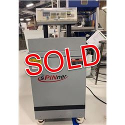 SOLD - Techniks HD-728 Spinner Hi-Speed Deburring Machine