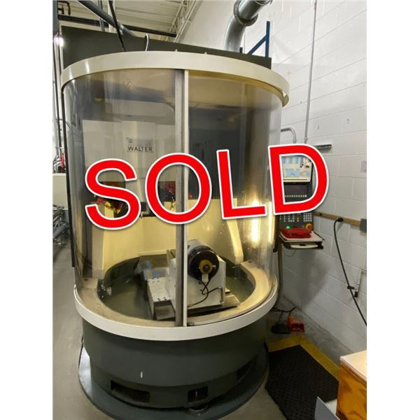 SOLD - Walter Grinders Helitronic 5-Axis CNC Tool & Cutter Grinder