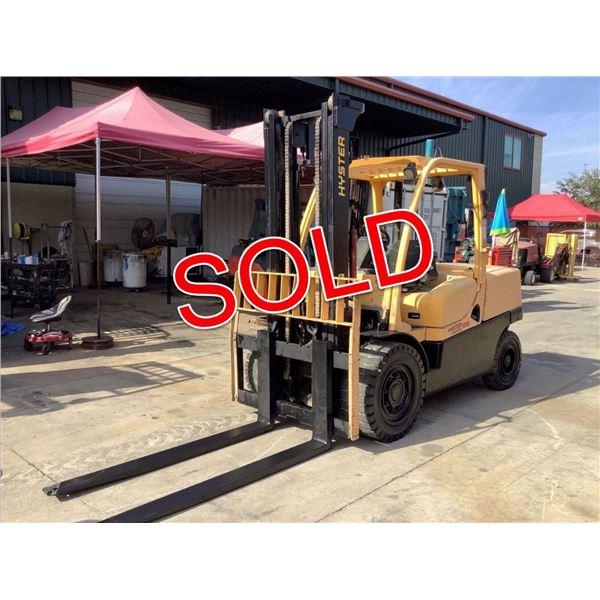 SOLD - 2008 Hyster Fortis 100 10,000lb Forklift