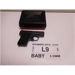 BROWNING ,  MODEL: BABY ,  CALIBER: 6.35MM