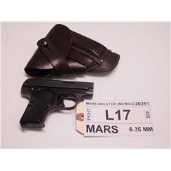 MARS ,  MODEL: MARS  ,  CALIBER: 6.35 MM