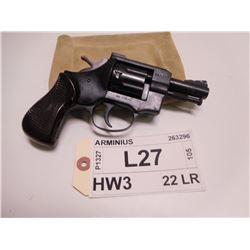ARMINIUS ,  MODEL: HW3 ,  CALIBER: 22 LR
