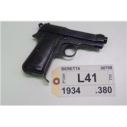 BERETTA ,  MODEL: 1934 ,  CALIBER: .380
