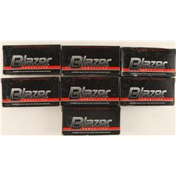350 Rounds of Blazer FMJ 9mm Ammo