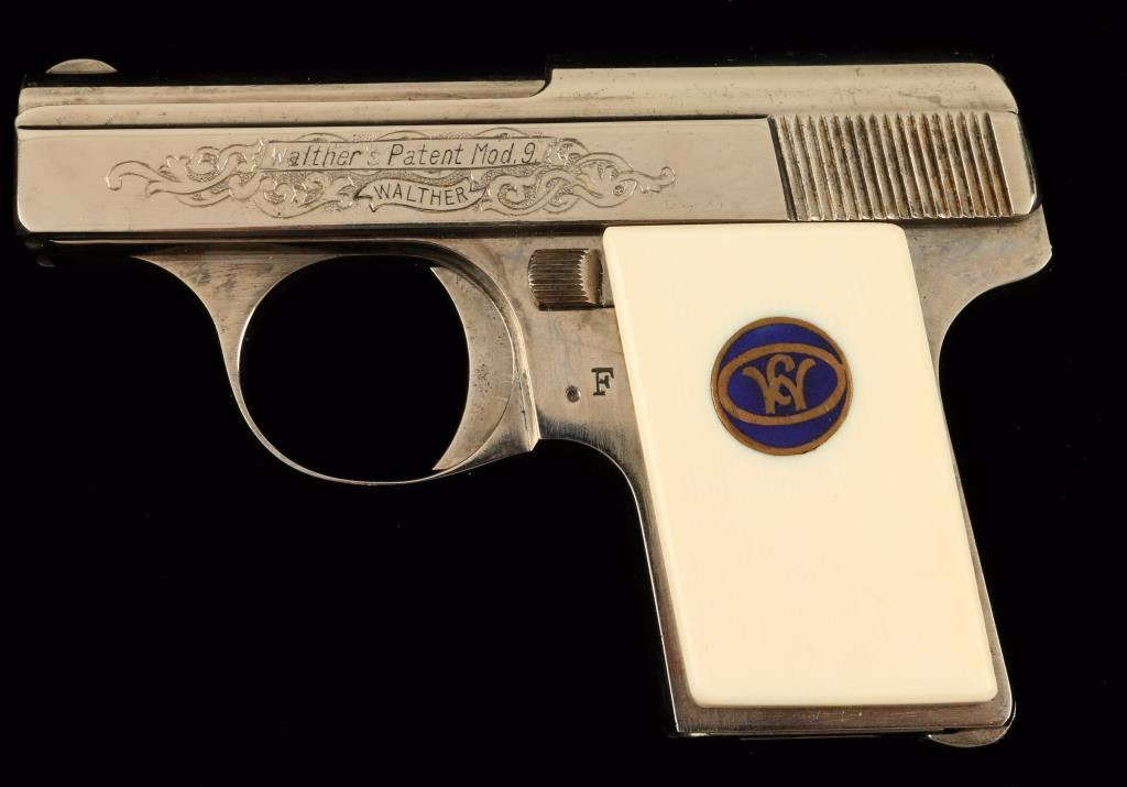 Walther Mdl 9  25 ACP SN: 519903