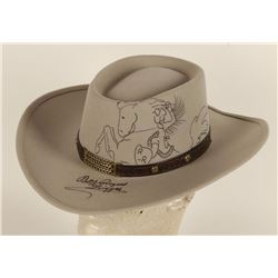 Hat Autographed by Roy Rogers