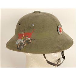Original North Vietnamese Army Helmet