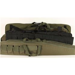 Lot of 8 Padded Rifle Boots