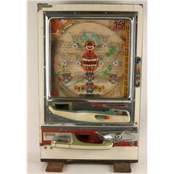 Japanese Upright Pinball Game